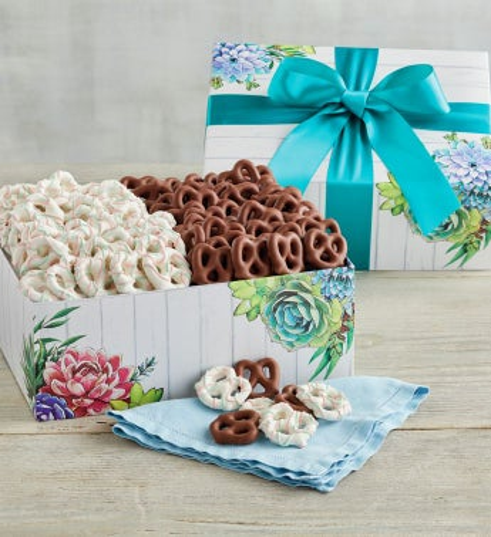 Spring Pretzel Box