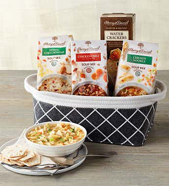 Speedy Recovery Soup Gift Basket