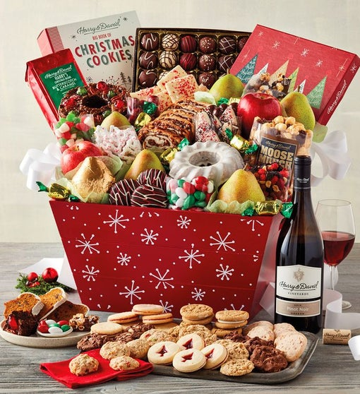 Ultimate Christmas Present.Ultimate Christmas Gift Basket Gift Baskets Delivery