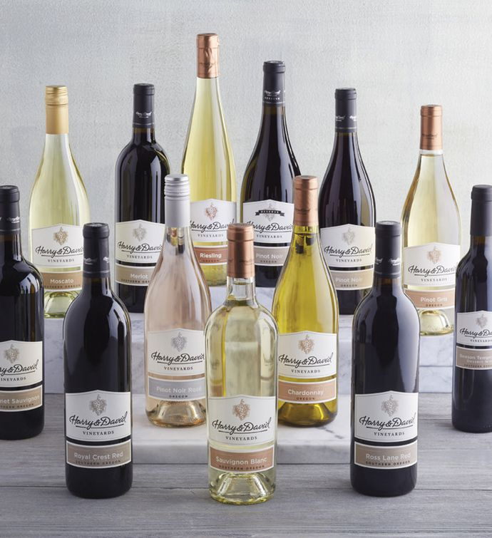 Choose Your Own Harry & David™ Wines – 12 Bottles