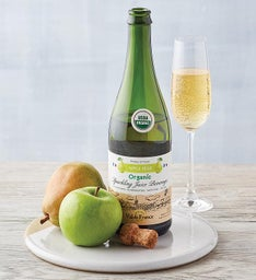 Organic Apple Pear Sparkling Juice