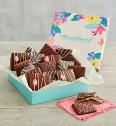 Spring Chocolate-Covered Grahams