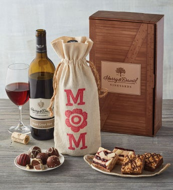 Mother's Day Wine and Sweets Gift