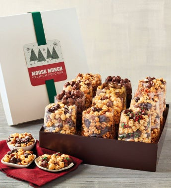 Moose Munch174 Premium Popcorn Ultimate Holiday Gift Box