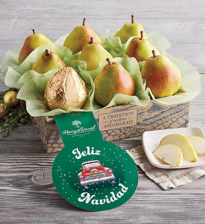 Royal Riviera® Feliz Navidad Pears