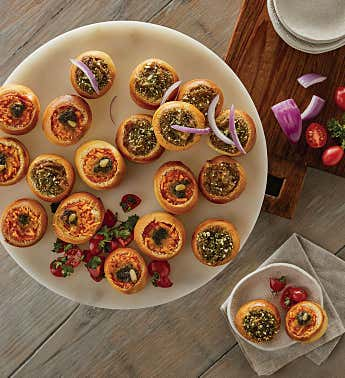 Soup Boule Appetizer Assortment
