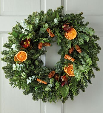 Cinnamon and Citrus Autumn Wreath