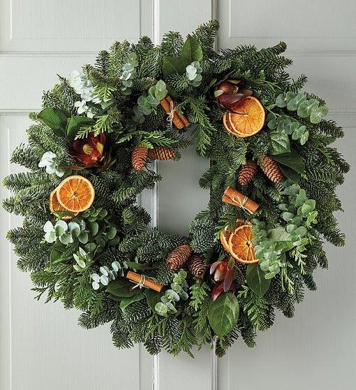 Cinnamon and Citrus Autumn Wreath