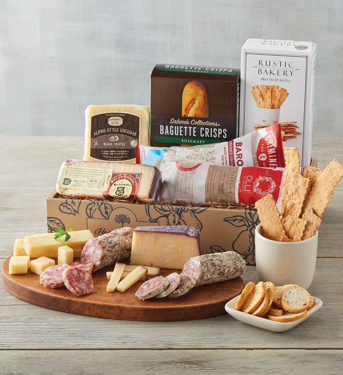 Deluxe Charcuterie and Cheese Assortment