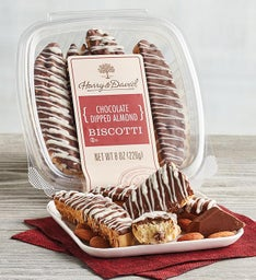 Chocolate Dipped Almond Boscotti (8 oz)