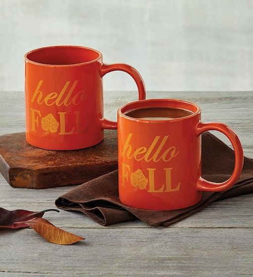 Fall Mug Duo