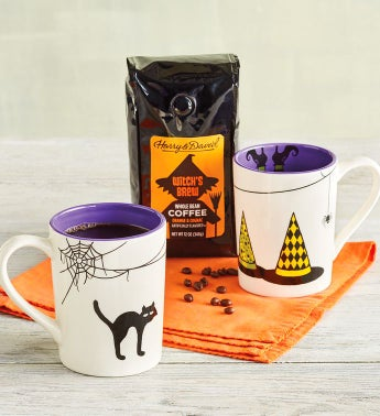 Witchs Brew Coffee and Mug Set