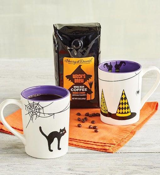 Witch's Brew Coffee and Mug Set