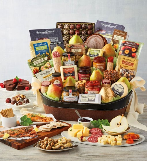 Gourmet Entertainer's Gift Basket