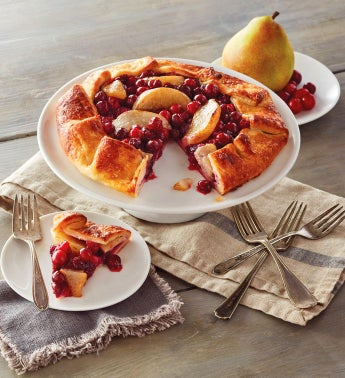 Cranberry Pear Galette