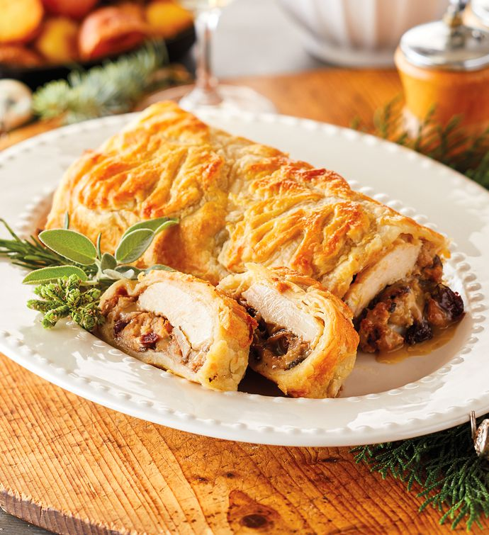 Turkey and Stuffing Wellington