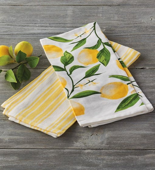 Lemon Bliss Kitchen Towel
