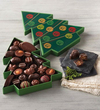 Christmas Tree Box of Chocolates