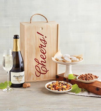 Chardonnay and Cheers Gift Box