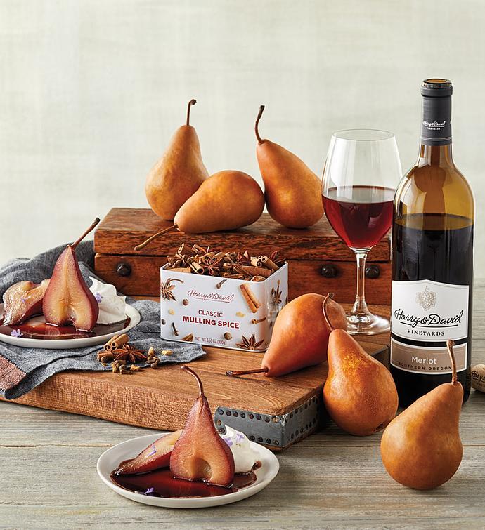 DIY Poached Pear Kit