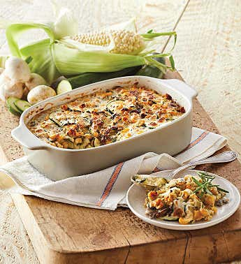 Zucchini and Corn Casserole