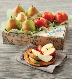 Birthday Pears and Apples Gift