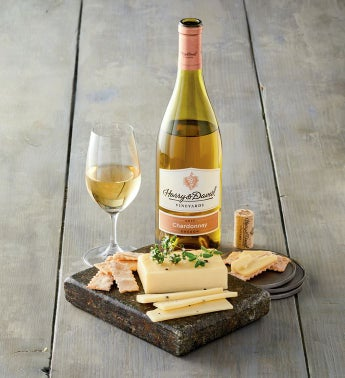 Wood River Creamerytrade Black Truffle Cheese and Harry  Davidtrade Chardonnay