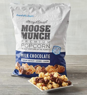 Moose Munch174 Premium Popcorn Milk Chocolate Mix Party-Size