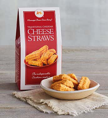 Aged Sharp Cheddar Cheese Straws