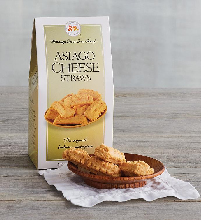 Asiago Cheese Straws