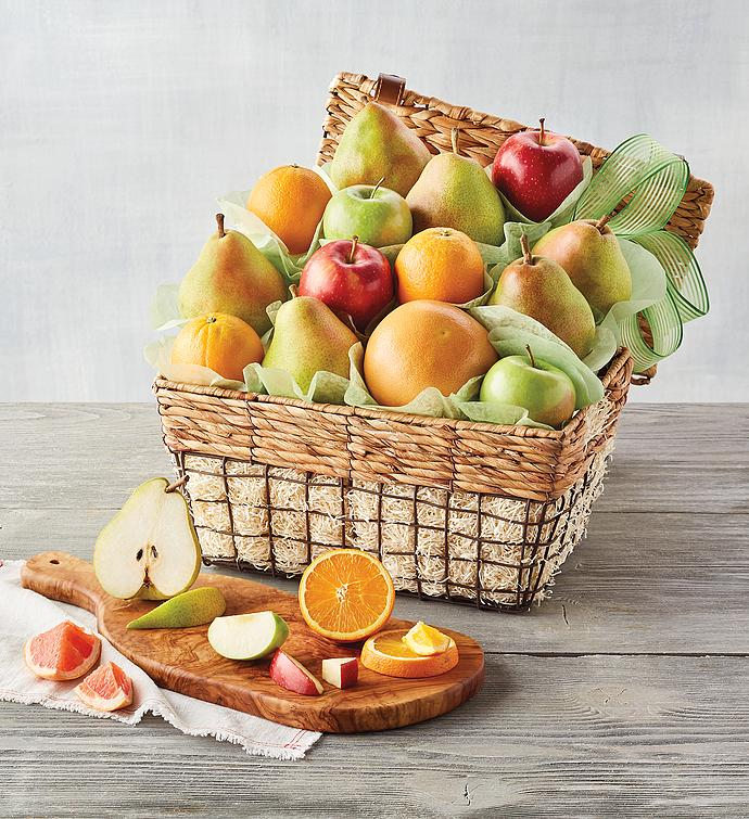 3-Month Organic Gift Basket Fruit-of-the-Month Club® Collection (Begins in October)