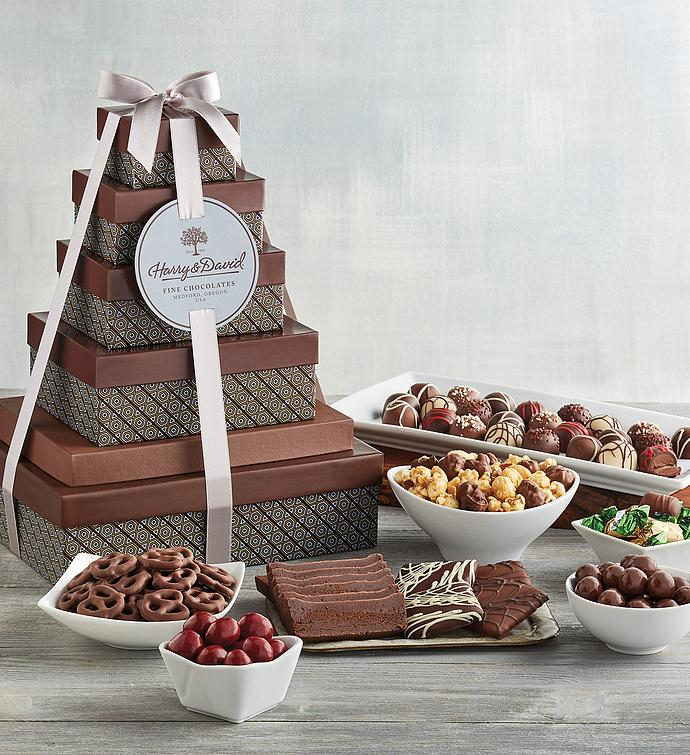 Tower of Chocolates® Deluxe Gift