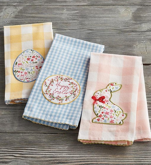 Easter-Themed Towels Set of 3