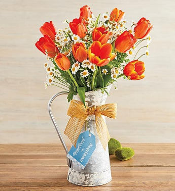 Peach Tulip Bouquet