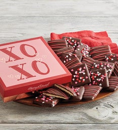 Valentine's Day Chocolate-Covered Grahams