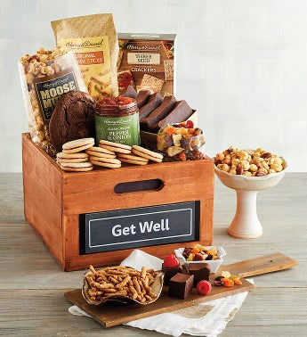 34Get Well34 Gift Basket