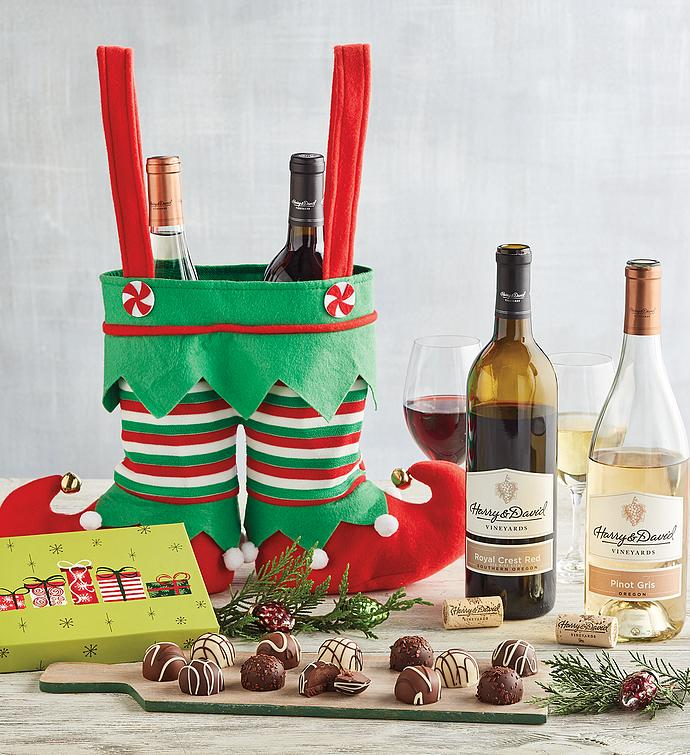 Elf Pants Wine Gift
