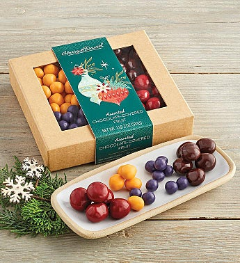 Holiday Chocolate-Covered Mixed Fruit