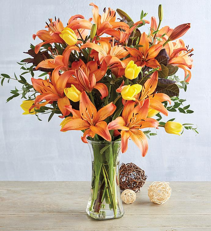 Colors of Fall Bouquet