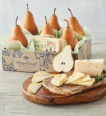 Bosc Pears and BellaVitano® Gold Cheese