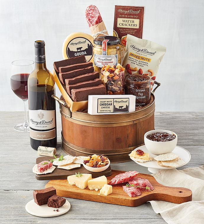 Wine Barrel Gift