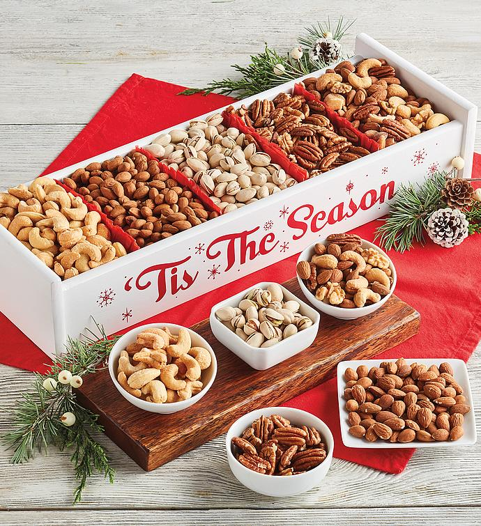Holiday Mixed Nuts Crate