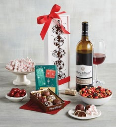 Wine Box with Ornament Cutouts