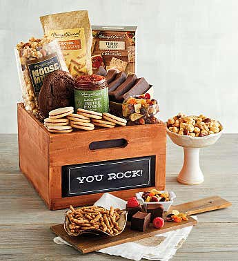 """You Rock"" Gift Basket"