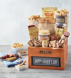 Father's Day Chalkboard Gift Crate