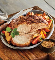 Five-Bone Natural Pork Roast and Maple Bacon Spice Rub