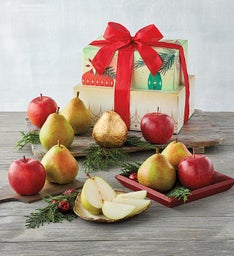 Holiday Apples and Pears Tower