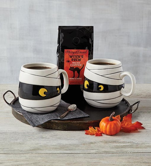 Witch's Brew Coffee and Mugs