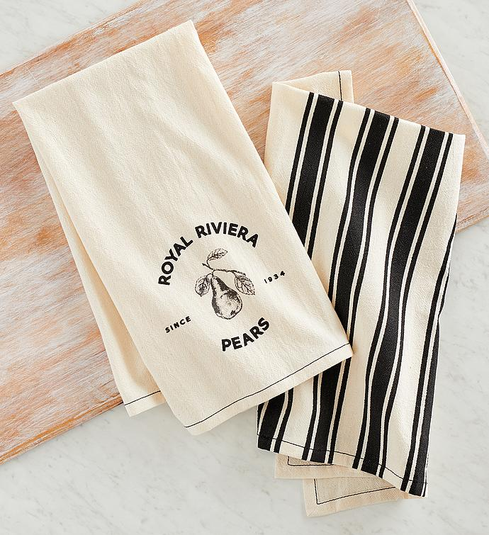 Harry & David™ Kitchen Towels - Set of 2