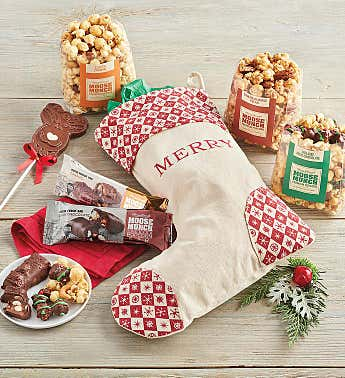 Moose Munch® Christmas Stocking